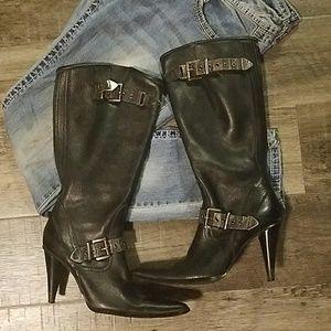 Harley Davidson high heel boots